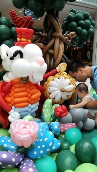 Watchman Balloon Sculpture