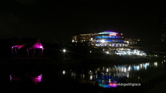 SAFRA Punggol at night
