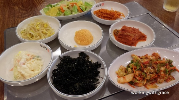 Ju Shin Jung Korean side dishes