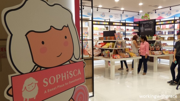 Sophisca Candy Store at Marina Square
