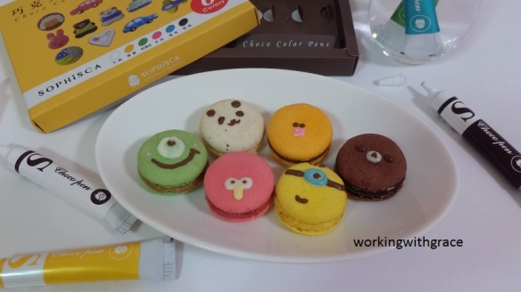 Sophisca Choco Color Pens Macarons