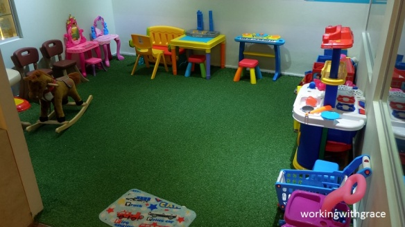 Tvoila Cafe play area