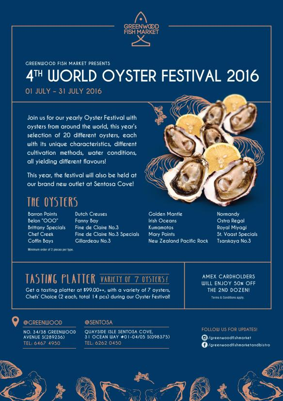 Greenwood Fish Market Oyster Festival 2016