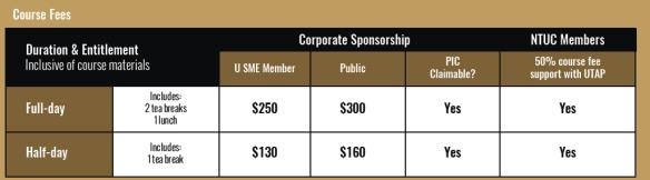 U SME course fees