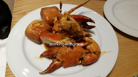 Marriott Hotel Buffet Singapore Chili Crab