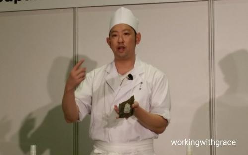 Chef Kenjiro Hashida