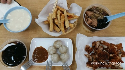 Rochor Beancurd House Menu