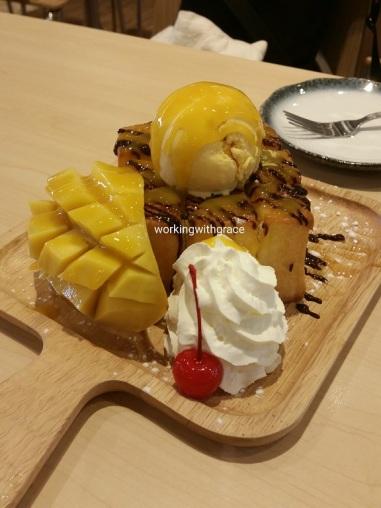 Sakana Mango Shibuya Toast