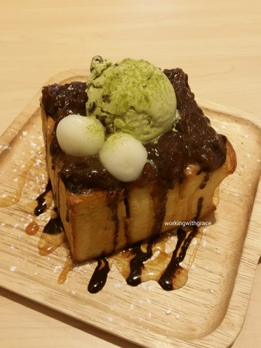 Sakana Matcha Shibuya Toast