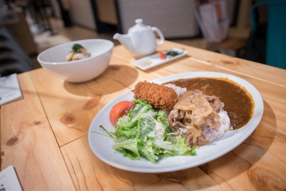Japan Rail Cafe Watashino Curry Rice