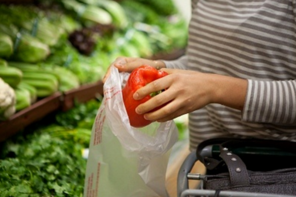 Supermarket Plastic Bag Charge