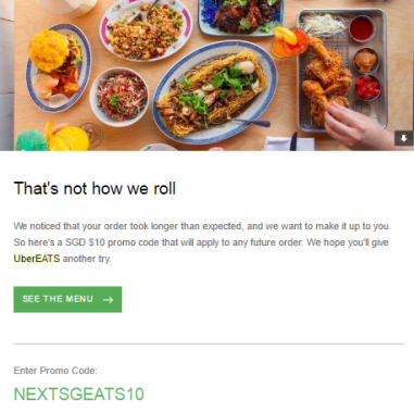 Ubereats singapore review