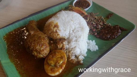 Ayam Rendang Rice