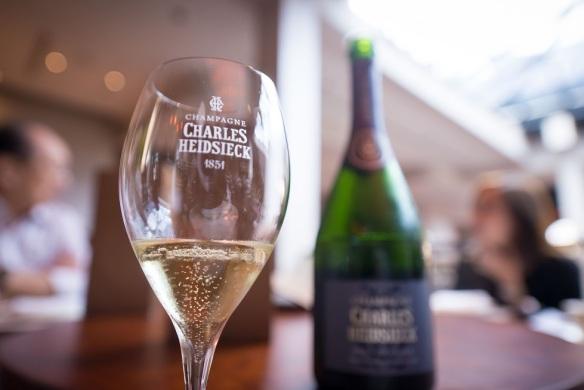 VLV Singapore Charles Heidsieck champagne