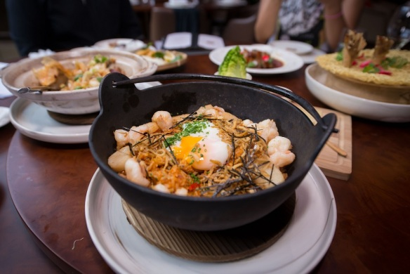 VLV Singapore Kimchi Seafood Fried Rice