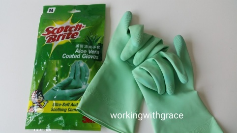 3M Scotch-Brite Aloe Vera Coated Gloves