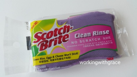 3M Scotch-Brite Clean Rinse No Scratch Scrubber