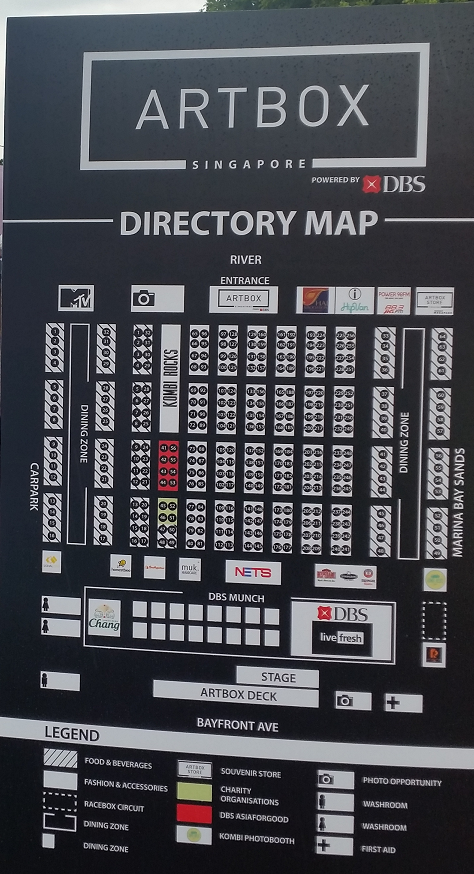Artbox Directory Map