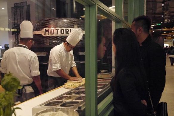 Motorino Pizza genting
