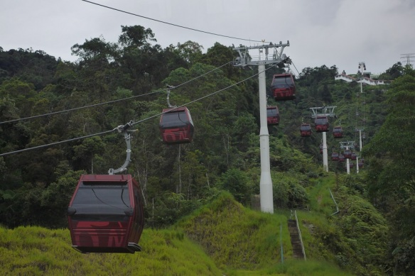 Resorts World Genting cable car