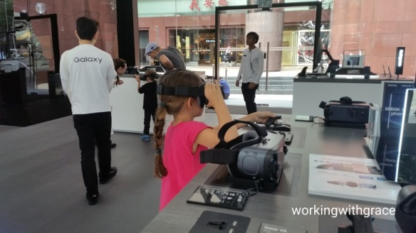 Samsung VR experience