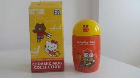 711 sanrio line friends mug