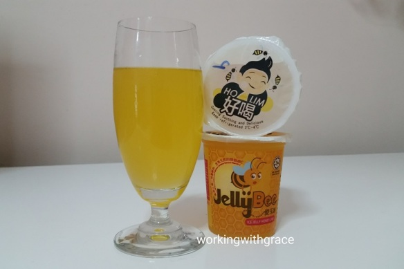 jelly bee ice jelly honey lime