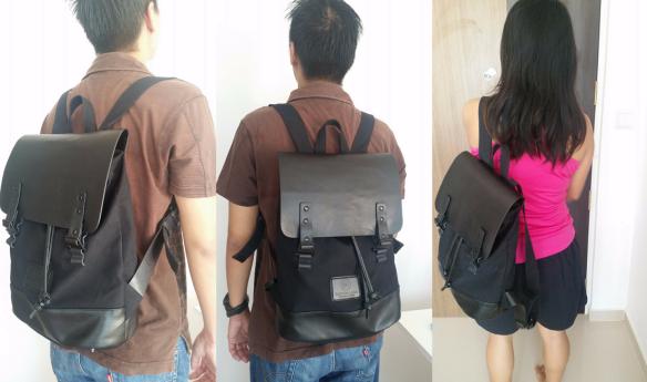 Gaston Luga unisex backpack