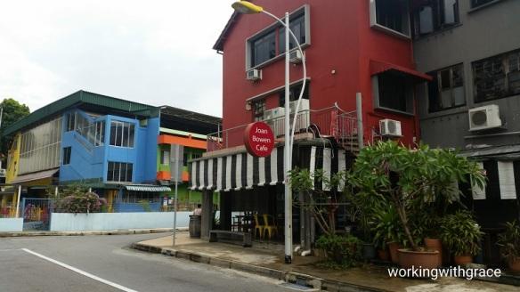 Joan Bowen Cafe location
