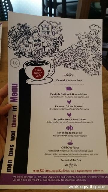 joan bowen cafe menu