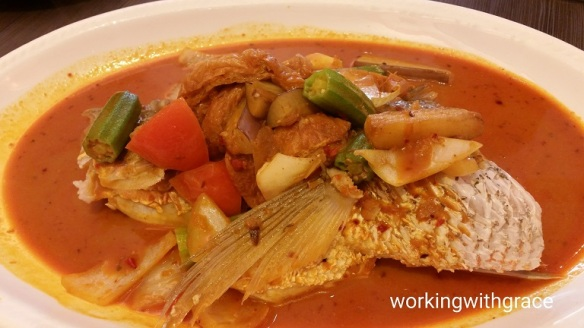 Kim's Place Assam Curry Fish Head