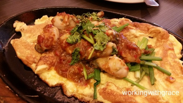 Kim's Place Oyster Omelette