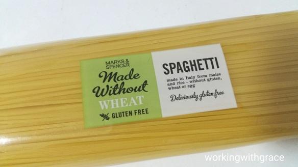 marks n spencer gluten free pasta