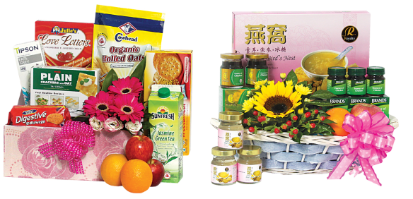 Orchard Florist Get Well Soon Hamper Singapore