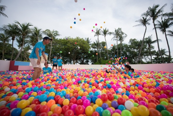 Singapore largest ball pit