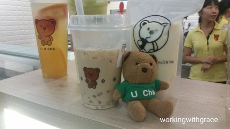 U Cha bubble tea