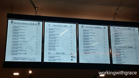 Ucha menu