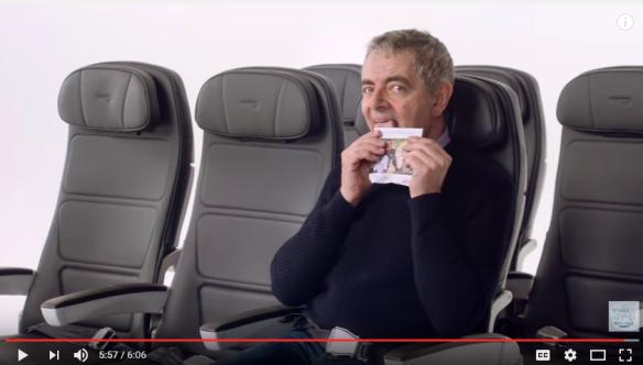 British Airways Safety Video with Rowan Atkinson
