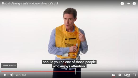 British Airways Safety Video