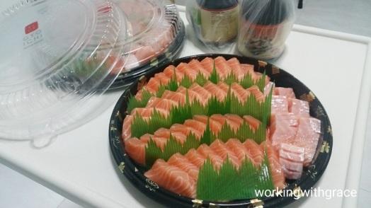Gyoichi Salmon Sashimi Platter