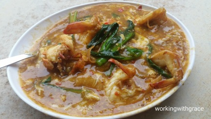 Kok Sen Giant Prawn Hor Fun
