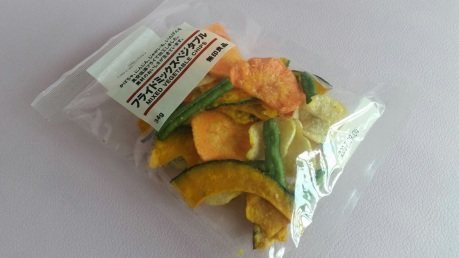 Muji Mixed Vegetable Chips