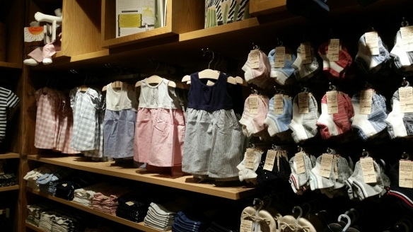 Muji Plaza Singapura kids wear