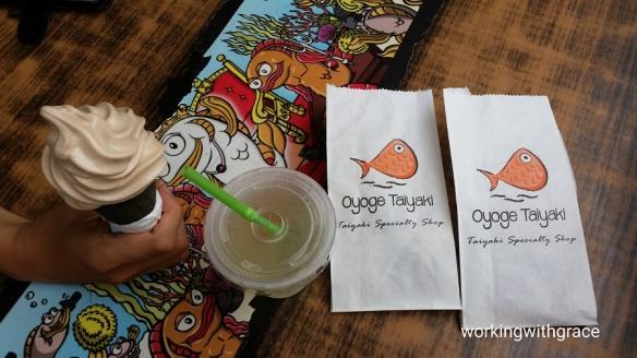 Oyoge Taiyaki review