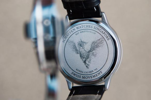 Schaffen customised watch