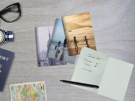 Travel passport notebook