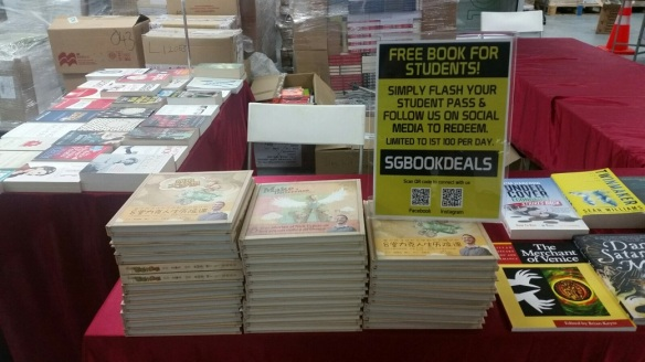 Books Box Sale students