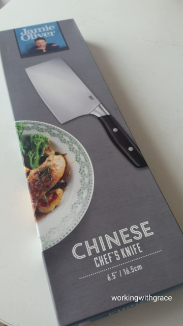 Jamie Oliver Chinese Chef's Knife
