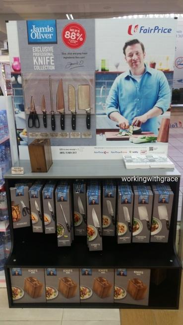 Jamie Oliver knives