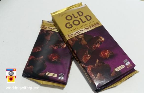 Cadbury Old Gold Old Jamaica Rum N Raisin